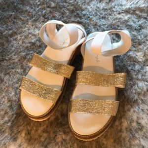 Free people white sandals